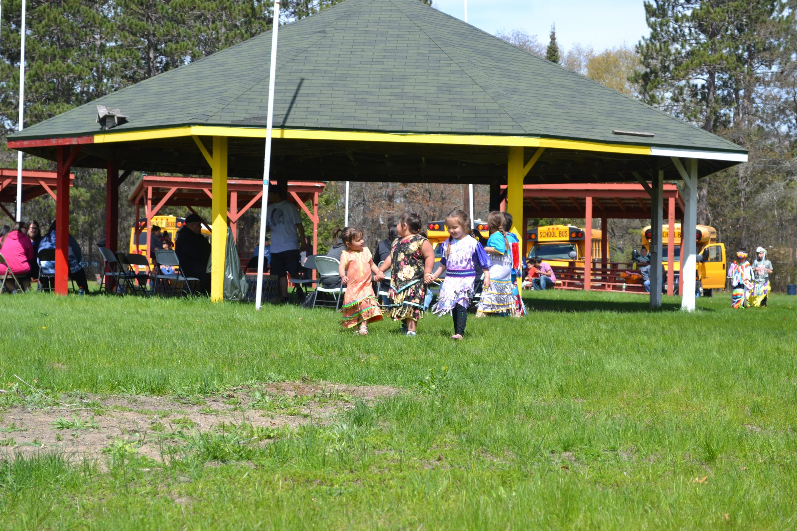 Outdoor event - Ojibwe culture
