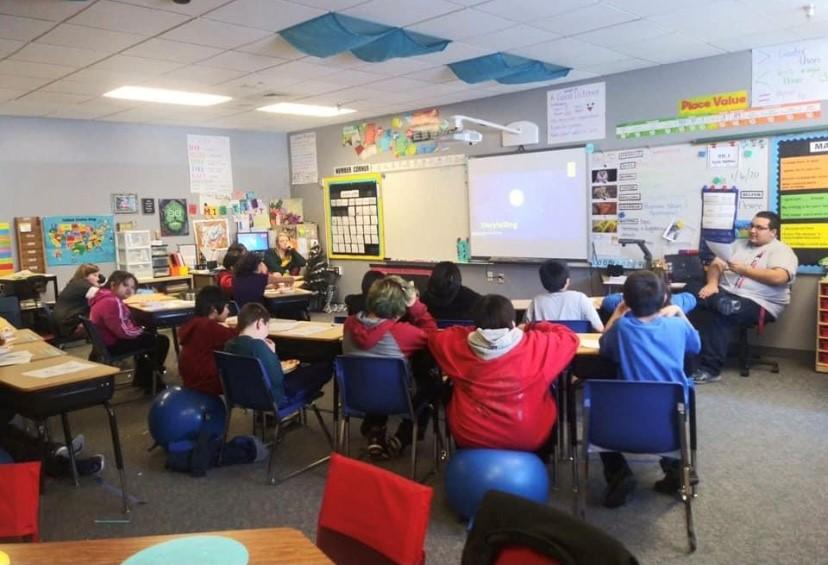 SNAP-Ed classroom